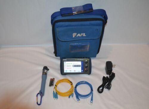 AFL Noyes FS200-100 FlexScan SM Fiber OTDR w/ PM & VFL FS200 100 Flex Scan