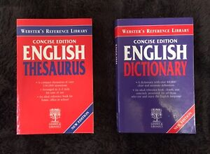 English Dictionary and Thesaurus Belmont Lake Macquarie Area Preview