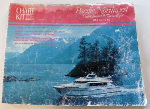 VTG 1992 ChartKit BBA Chart Pacific Northwest Region 15 Puget Sound Marine Atlas