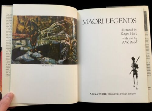 MAORI LEGENDS BY A.W. REED ILLUSTRATED BY ROGER HART MAORI FOLKLORE SUPERNATURAL