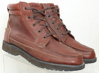 Cabela's Brown Pebbled Gore-Tex Moc Toe Casual Boots 320912 Men's US 10.5 D Gore Moc