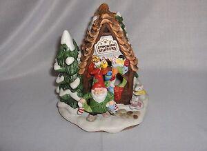 Fitz-Floyd-Stocking-Stuffers-Workshop-Figurine-Holiday-Hamlet-1993-RARE