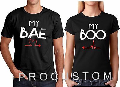 My BAE MY BOO HALLOWEEN Gift Funny Matching Couple Christmas Cute - Cute Halloween Couples