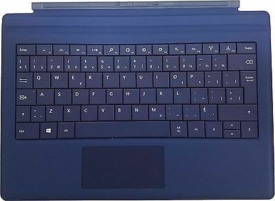 "Microsoft Surface Pro 3 & Pro 4 Type Cover Keyboard 12"" Tablet US / Canada -Blue"