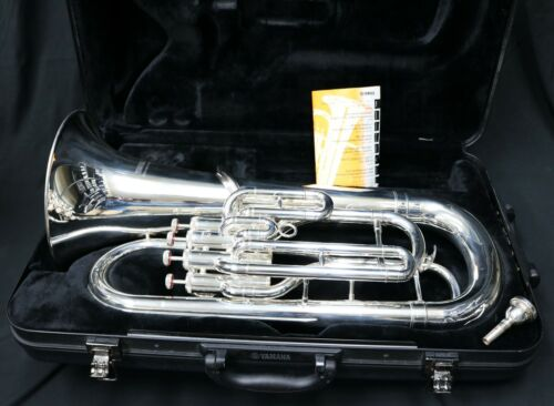 Yamaha YEP-321S 4-Valve Euphonium Silver (Nice Horn)
