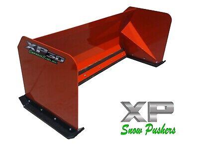 6 Xp30 Snow Pusher Box Kubota Orange Skid Steer Bobcat Local Pick Up-rtr