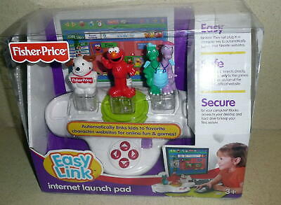 FISHER PRICE EASY LINK INTERNET LAUNCH PAD WIth Sesame Street Elmo 2007 NIB