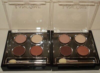 2 Lancome Colour Focus Quad Eye Shadow Palette - Honeymoon Leazard Florasque Set Colour Focus Eye Shadow Palette