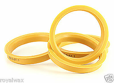 Alloy Wheel Hub Centric Spigot Rings 73.1 - 66.6 Wheel Spacer Set of 4