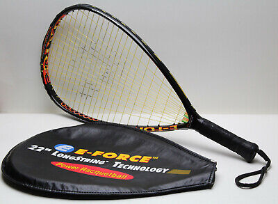 Details about  /Spalding Killshot Fury Racquetball Racquet Ball Racket With Cover U1a337pc
