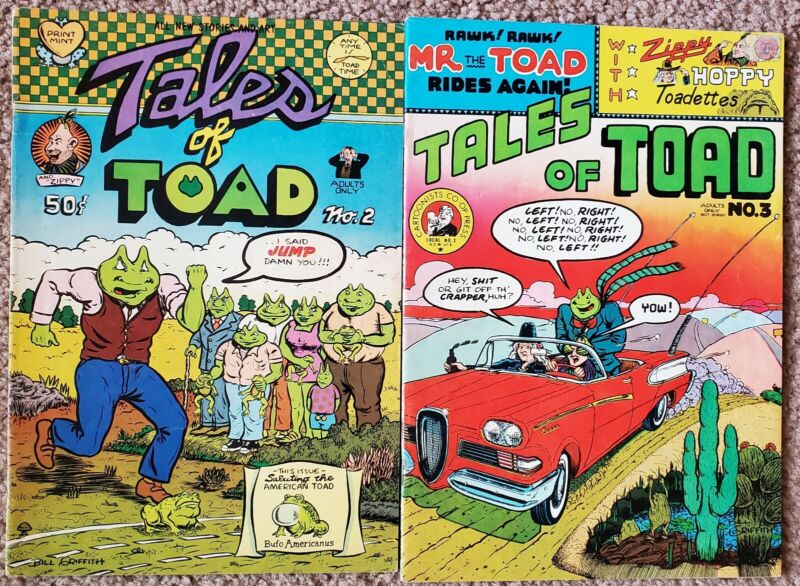 Tales of Toad 2 & 3 (1971) FINE Free Shipping!