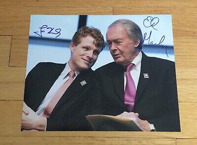 Joe Kennedy Ed Markey MA DUAL Signed Autograph 8x10 Photo 2020 Senator TOUGH