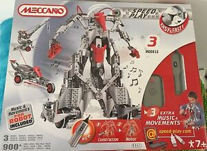 Meccano - Speed Play Interactive Robot Warners Bay Lake Macquarie Area Preview