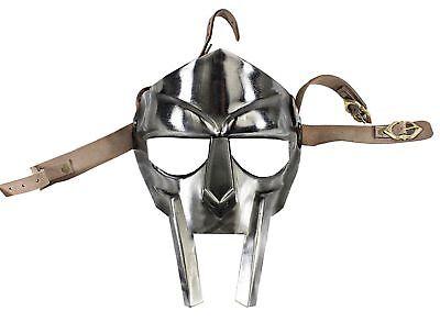 ske Helm Hand geschmiedete Sca Larp Helm Roman Rüstung Repli (Roman Gladiator Helm)