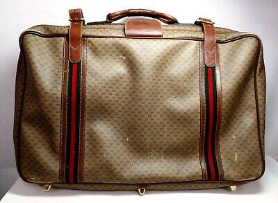 Gucci Vintage Suitcase Brown , Travel Bag