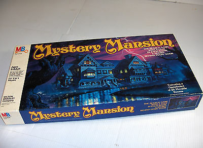 Mystery Mansion Board Game No. 4402 copyright 1984