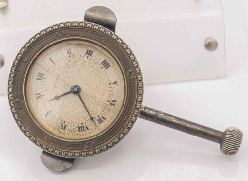1918 Waltham Watch Co. 8 Day 37s 7j Ford Model T Car Automobile Dash Clock Runs