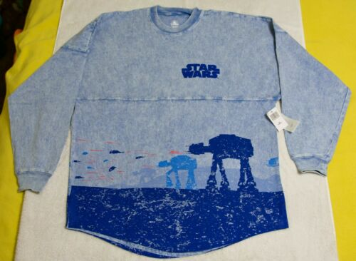 DISNEY PARKS STAR WARS PLANET HOTH AT-AT ADULT SPIRIT JERSEY SIZE X SMALL NWT