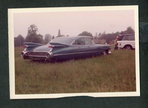 Vintage Color Photo 1959 Cadillac Coupe DeVille Sedan Car 429081