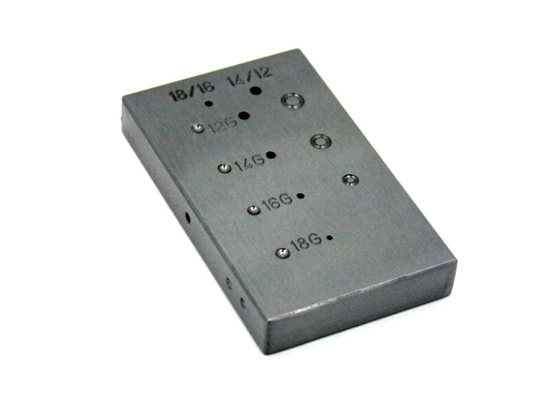 Steel Anvil Riveting Block