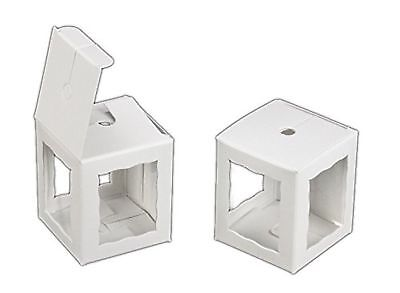 Pack Of 25 Cake Pop Bakery Boxes With Window 1.75x1.75x2 Inch - White Kraft ...