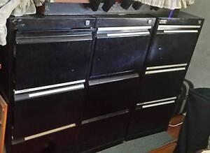 3 Filing Cabinets Carlton Kogarah Area Preview