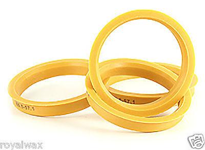 Alloy Wheel Hub Centric Spigot Rings 60.1 - 57.1 Wheel Spacer Set of 4