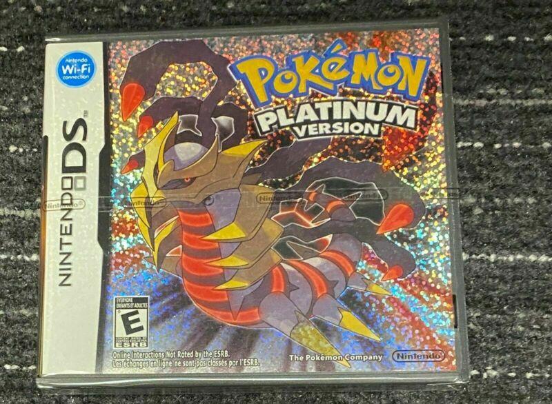【US】 Pokemon Platinum Version丨Nintendo DS NDS 3DS DSi Lite * Sealed Complete