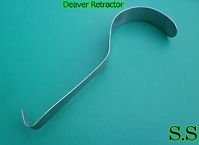 Assorted 4 Deaver Retractor Surgical Medical Instruments