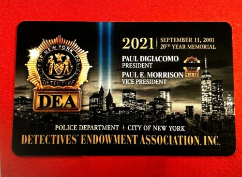 "1 """" BRAND  NEW """" COLLECTIBLE  2021  DEA  PBA CARD "" LIKE CEA LBA SBA PBA CARD"