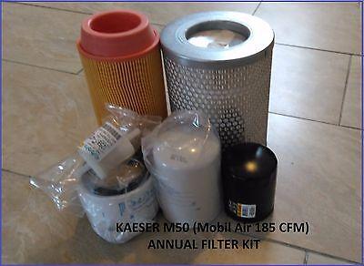 Kaeser M50 Compressor Filter Kit Mobilair 185 Cfm Anm50kit