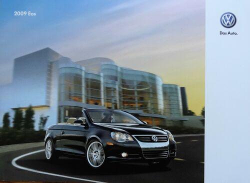 2009 VW ~ Volkswagen EOS Brochure