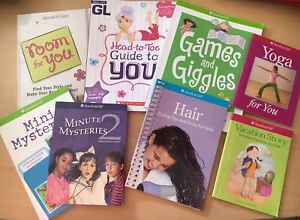 8 American Girl Books