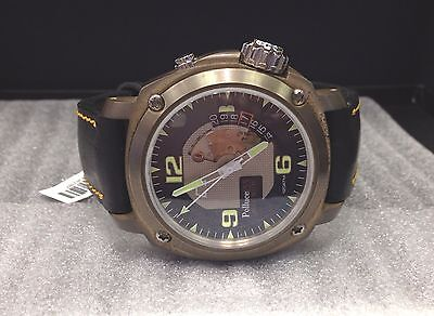 ANONIMO BRONZE POLLUCE 455 MAGNUM MEN'S WATCH  BLUE/BLACK DIAL #2033