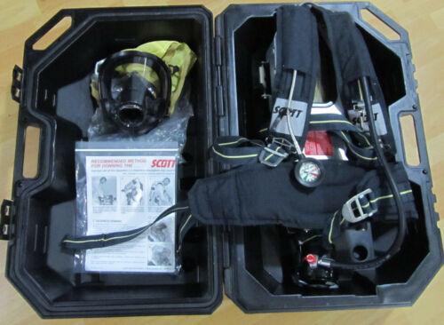 Scott 4.5 Air-Pak Plus CBRN Regulator Integrated PASS SCBA Harness With Case