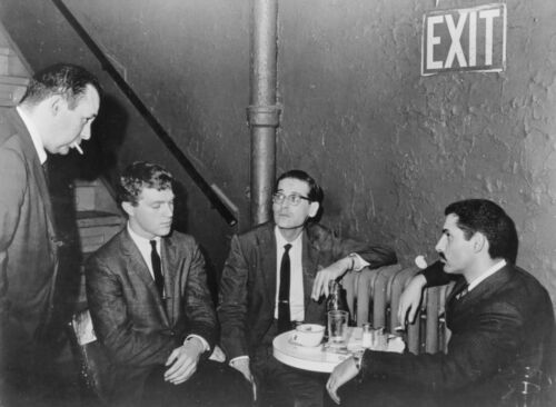 "Reproduction ""Bill Evans Trio - Village Vanguard"" Poster, Jazz, Vintage Print"