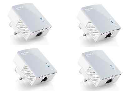 TP Link TL PA4010 500Mbps nano Powerline Ethernet Gaming adapter Home Plug X 4