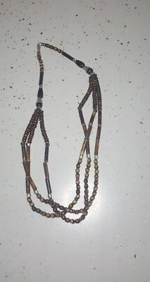 Cattle Bones Jewelry Necklace Mud Cloth Beads/African Clothing 08M5BpN Kwanzaa