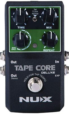 NUX Tape Core Deluxe Tape Echo Pedal BRAND NEW