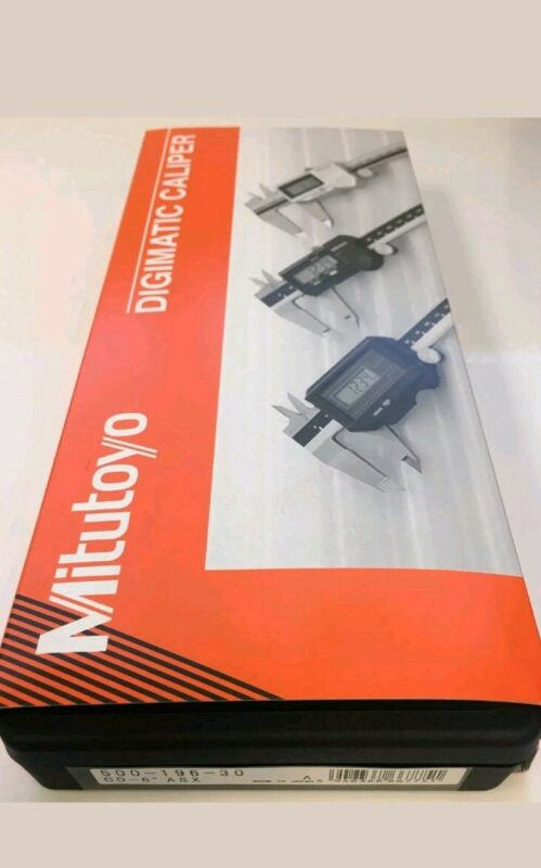 "Mitutoyo 500-196-30 Absolute Digimatic Caliper 0-6""150mm Range BRANDNEW Authent!"