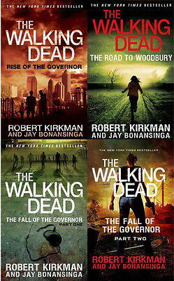 The Walking Dead  Rise Of The Governor Series Collection 1 4 Robert Kirkman New