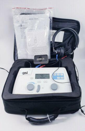 Audiometer Grason Stadler GSI 18 GSI18 Audio Meter + Headphones and More