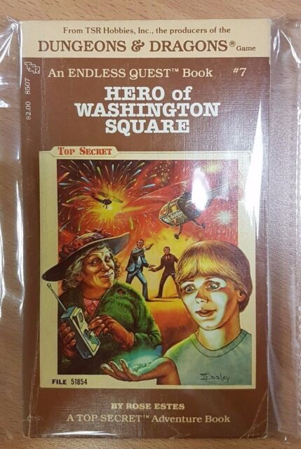 Hero of Washington Square ***VGC!!*** Endless Quest 7 Dungeons & Dragons