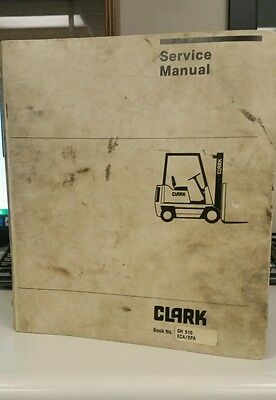 Clark Forklift Oh 510 Ecaepa Service Manual
