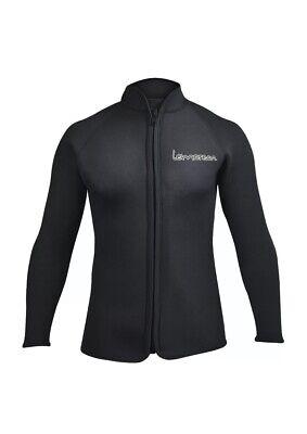 NWT Lemorecn Adult Large 3mm Wetsuit Jacket Long Sleeve Neoprene Drysuit Gear