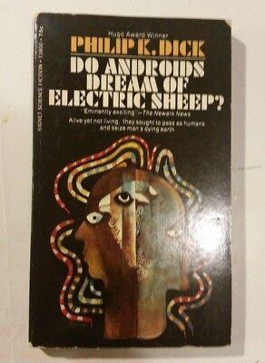 DO ANDROIDS DREAM OF ELECTRIC SHEEP PHILIP k. DICK '69 SIGNET 1STPB blade runner