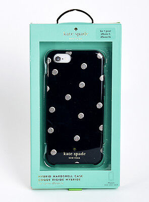 Kate Spade Hard Shell Case for iPhone 6 iPhone 6s Scattered Pavilion Black/Dots