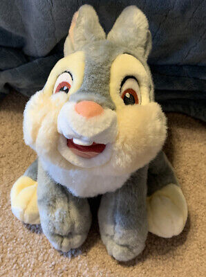 Disney Store Bambi Thumper Soft Plush Toy Authentic Exclusive