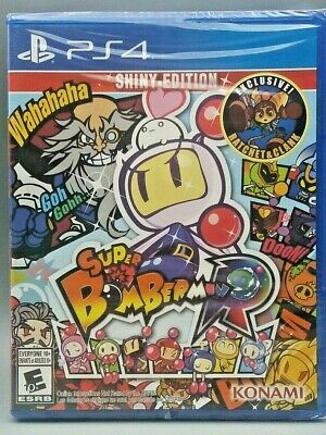 Playstation 4 PS4 Game Super Bomberman R Shiny Edition - New Factory Sealed!