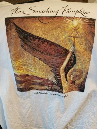 Vintage Smashing Pumpkins Machina Tour T Shirt 2000 (Size XL, Excellent Cond)